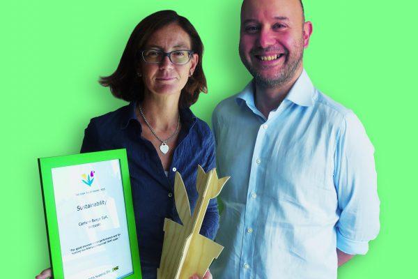 Ikea ha assegnato a Burgo Group il prestigioso Tulip Award 2015 per le performance di sostenibilità ambientale e di sicurezza