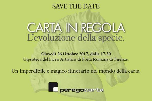 """TWO SIDES sarà presente a """"CARTA IN REGOLA"""" c/o Gipsoteca Liceo Artistico di Porta Romana (Firenze) il 26 ottobre"""