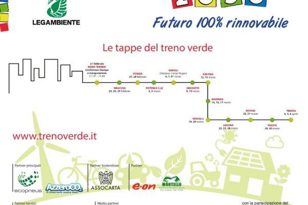 Assocarta partner sostenitore della campagna Treno Verde Legambiente 2018