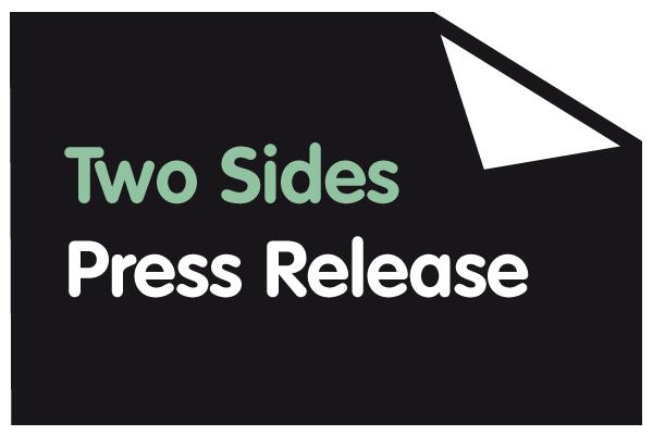 Grazie all'organizzazione TwoSides centinaia di aziende rimuovono messaggi contro la carta nella loro comunicazione aziendale