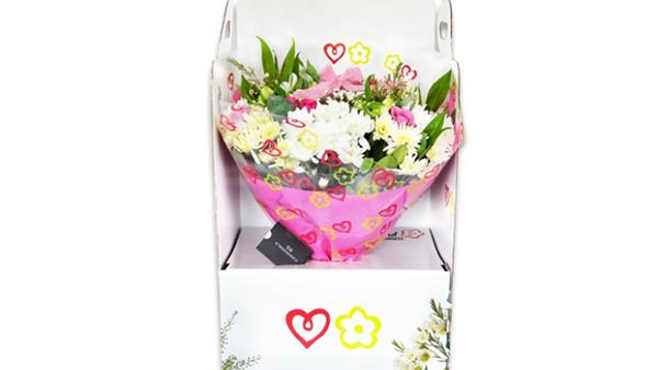 Nuovi packaging in carta per proteggere i fiori